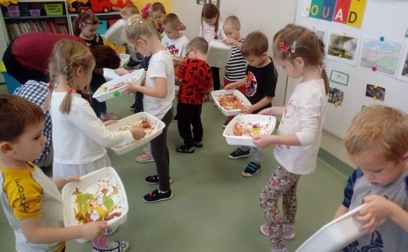 Przedszkole pełne twórczych działań